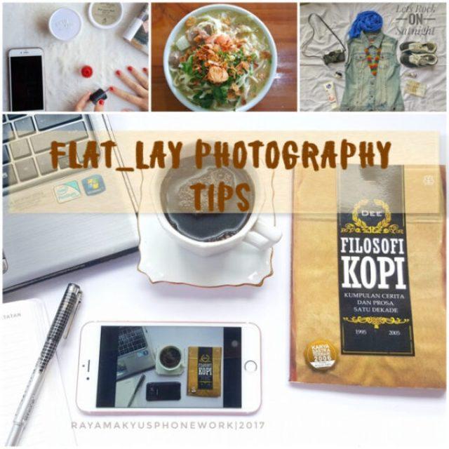 tips fotografi flat lays