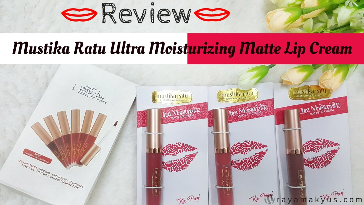 [Review] Mustika Ratu Ultra Moisturizing  Matte Lip Cream