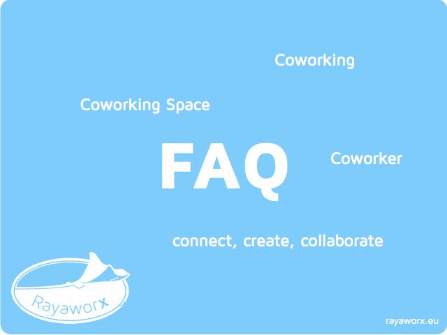 Coworking FAQ illustration