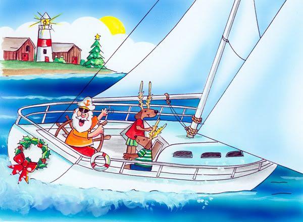 Sailing Santa