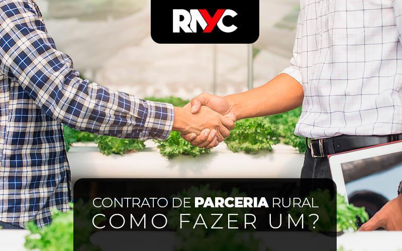 Contrato De Parceria Rural