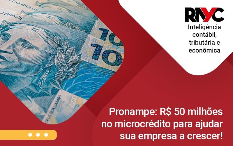 Pronampe Rs 50 Milhoes - Contabilidade Em Goiânia - GO | Rayc Contabilidade