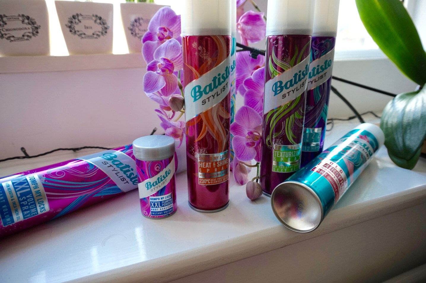 PHOTO INSERT: Batiste Products