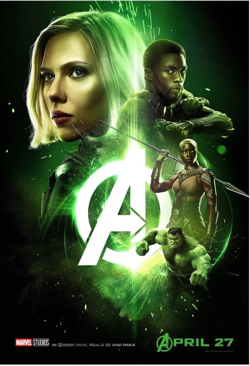 raychel-says-avengers-infinity-war-marvel-black-widow-black-panther-the-hulk-green-dora