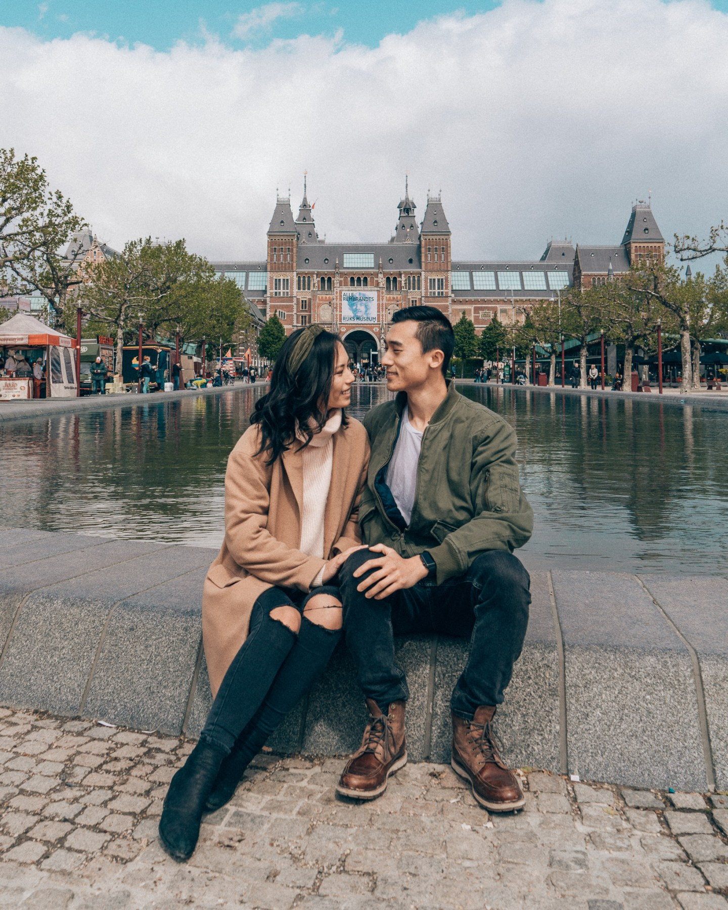 Expat Kevin and Rachel Rijksmuseum