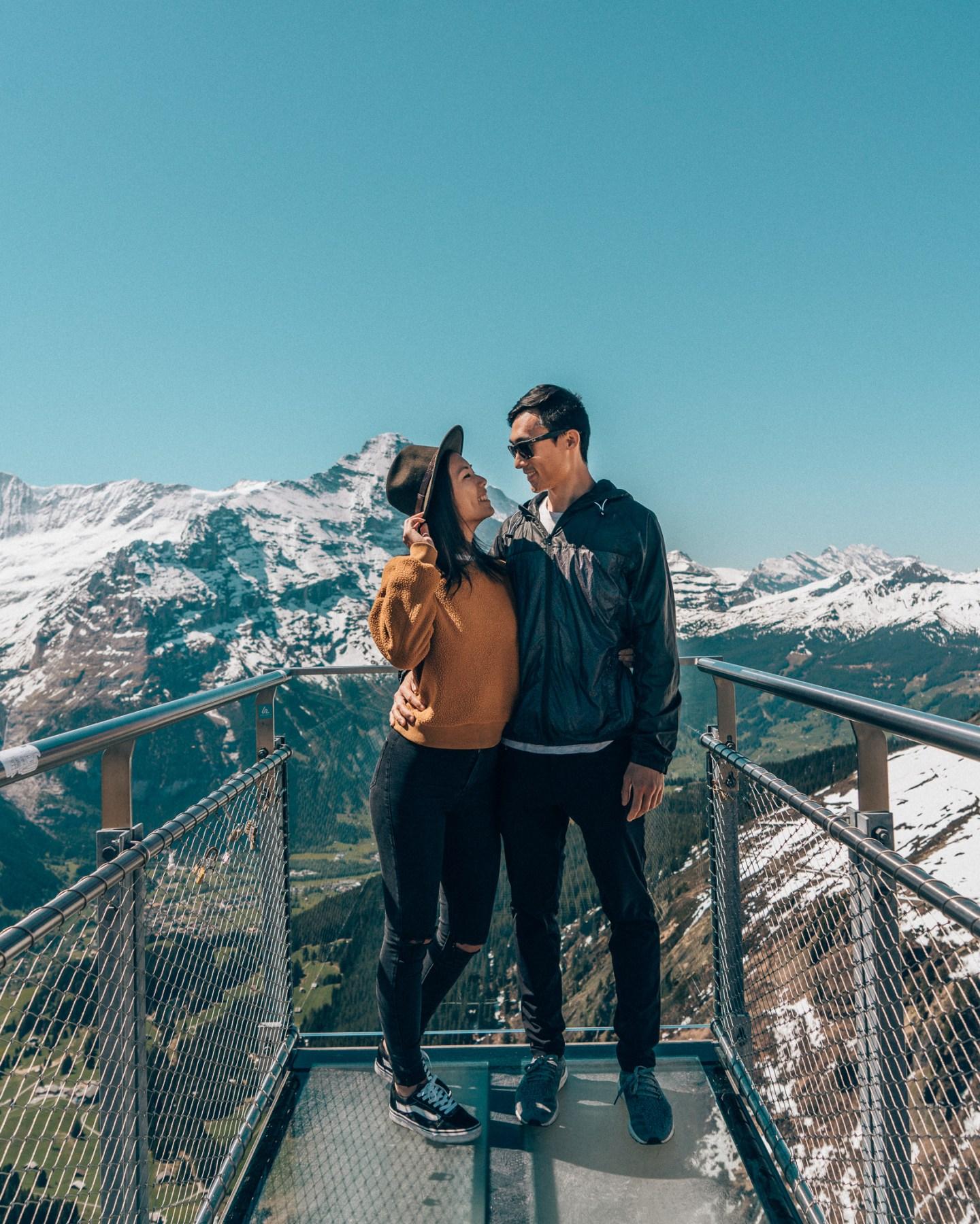 Grindelwald Cliff Walk Switzerland