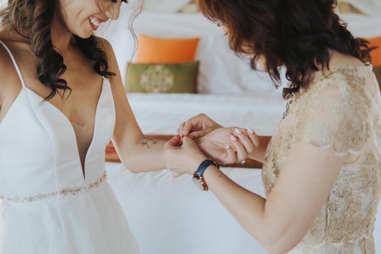 wedding bracelet mom