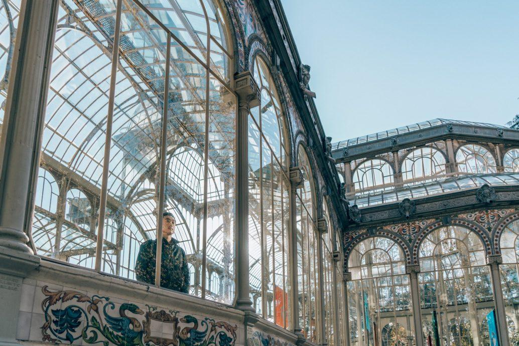 madrid palacio de cristal