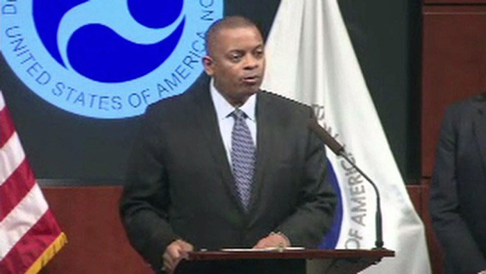 U.S. Transportation Secretary Anthony Foxx speaks Tuesday on the Takata air bag recalls. Nearly 34 million vehicles containing the defective equipment have been recalled. (Source: CNN)