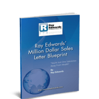 Free Copywriting Ebook - Ray Edwards Million Dollar Sales Letter Blueprint