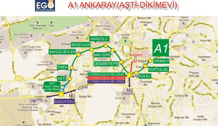 ankaray estações ankara