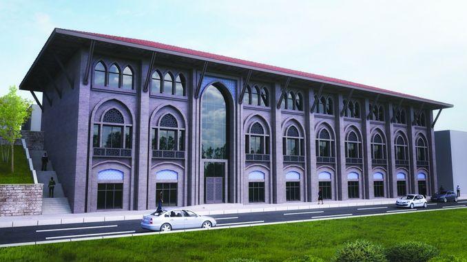 abdulhamidin ruyasi hejaz railway amman railway station being restored