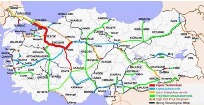 Ankara İstanbul Yüksek Hızlı Demiryolu Hattı