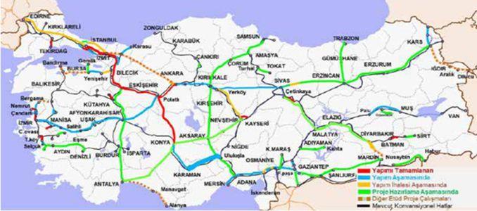 Karaman Ulukışla Yenice Hızlı Demiryolu Hattı