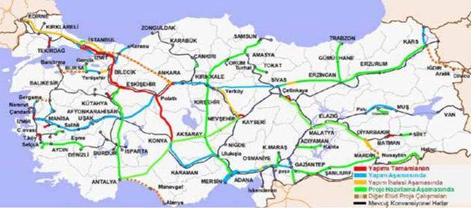 Mersin Adana High Speed Railway Line