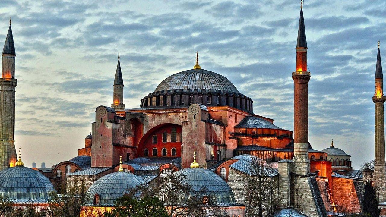 The architecture of Hagia Sophia