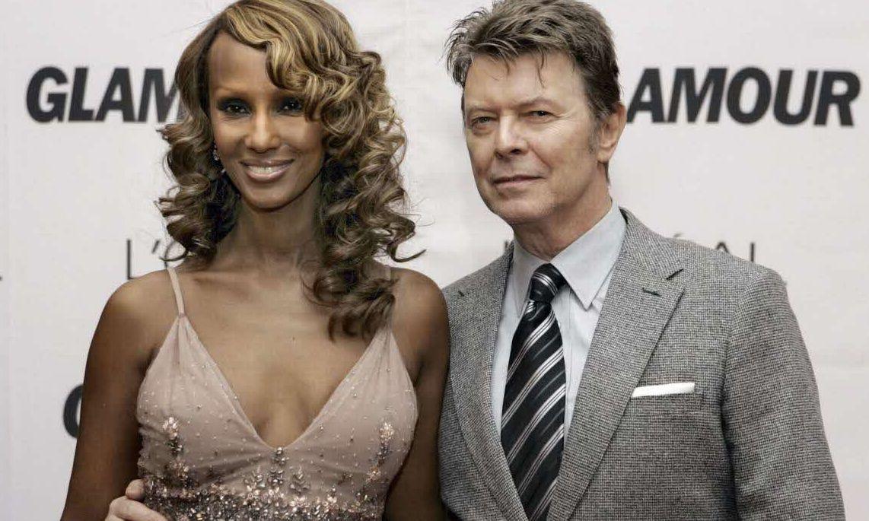 David Bowie et Iman Mohamed Abdulmajid