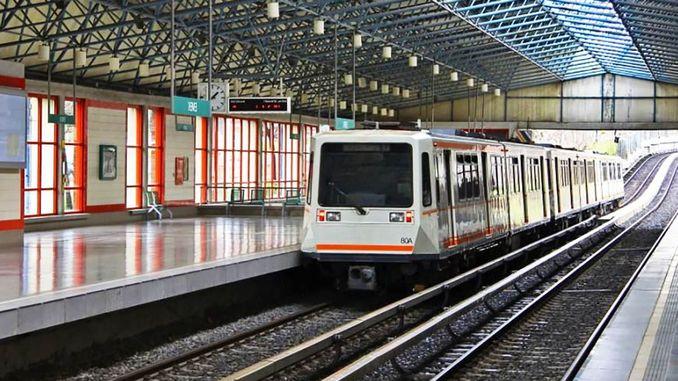 ankaray light rail mass transportation system