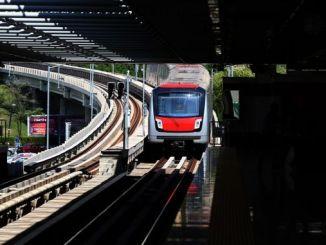 kizilay cayyolu metro hatti umitkoy cayyolu istasyonu tunel insaati