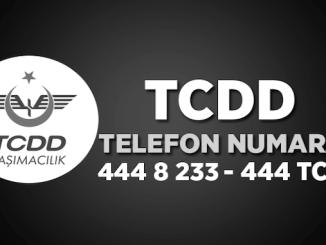 TCDD поезд билет, тел, байланыш линиясы