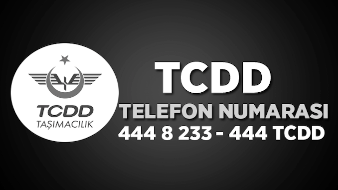 treinticket telefoonnummer tcdd contact