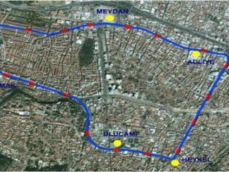 bursa t1 tram