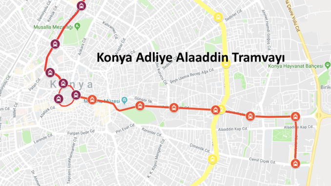 Khadka Konya Court Alaaddin Tram Line