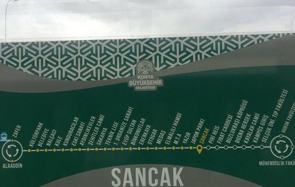 Konya Sancak Tram Station