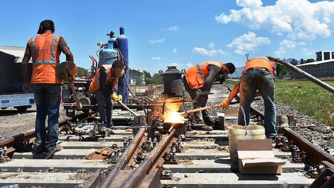 Wie Eisenbahner arbeiten Video