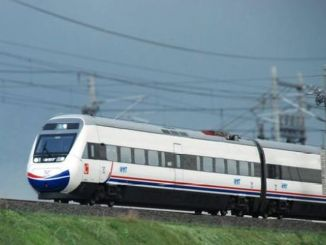 fast train alifuatpasa tunel entrance legs