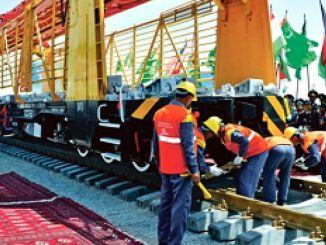 transafgan demiryolu insaatina baslaniyor