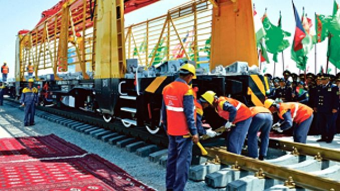 transafgan railway construction begins