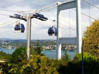 istanbul bogazi ropeway project