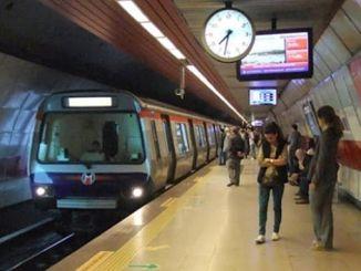 Χάρτης πρόσβασης στο μετρό της Κωνσταντινούπολης 3