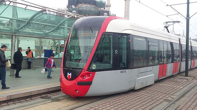 istanbul tram lines map 3