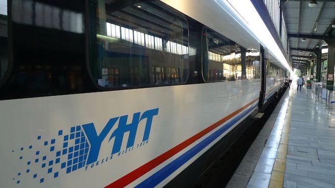 รถไฟความเร็วสูง - YHT