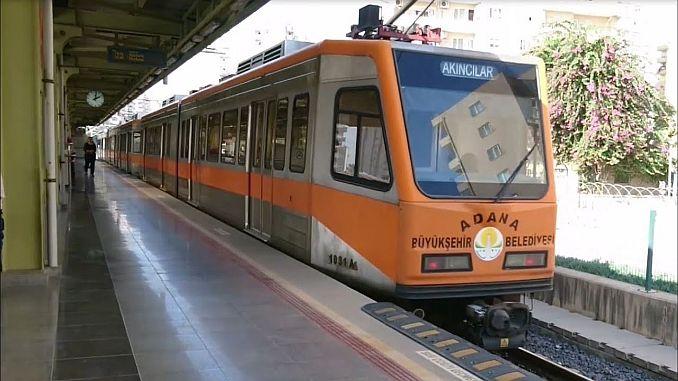 adana मेट्रो कार्यक्रम अनुसूची और मानचित्र को रोकते हैं