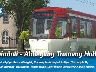 eminonu alibeykoy tramvay