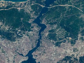 Istanbul From Space