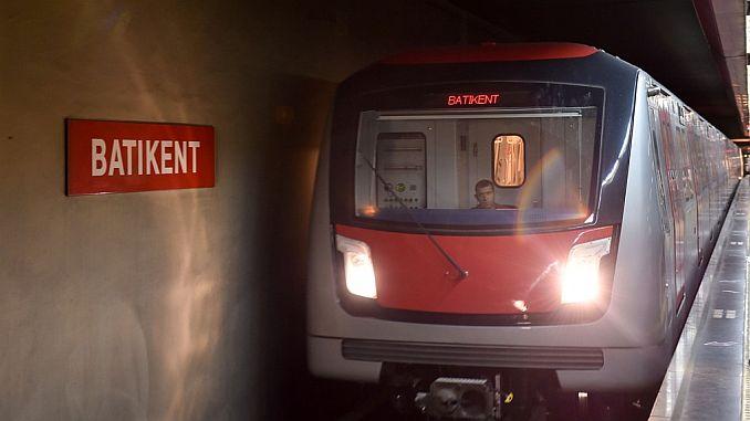 Ankara Metroslinn an Arrêt'en