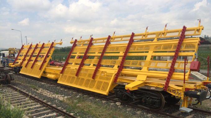 scissor and panel transport wagon