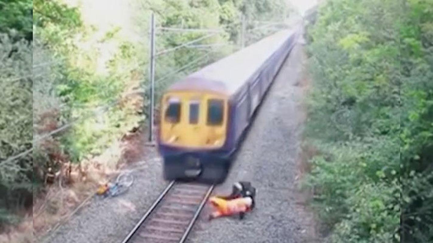 Boyle was rescued near the train crash