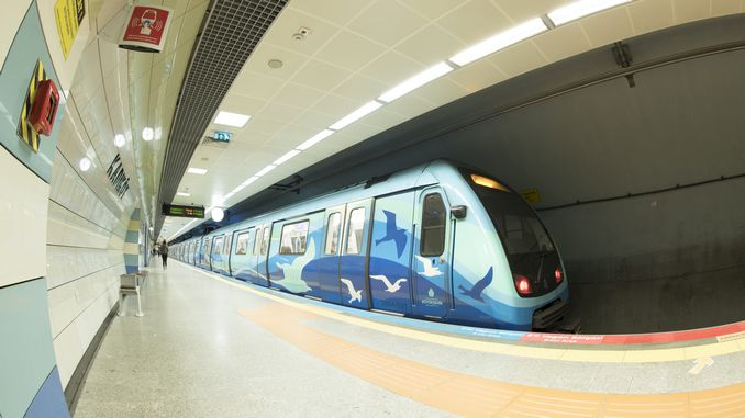 istanbul rayli sistemi icin adet metro araci alimi ihalesi sonucu ozel haber