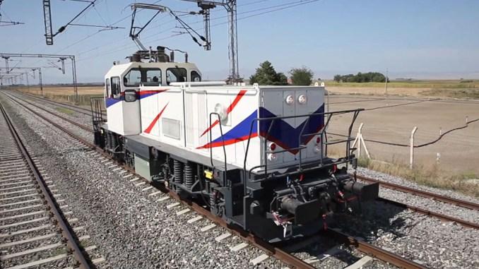 TÜBİTAK MAM Etxeko lokomotora elektrikoa