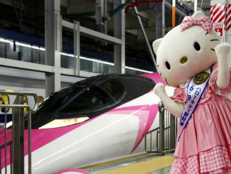 Japan Hello Kitty Bullet Train ver