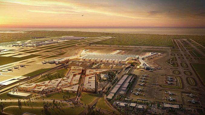 3 airport verlaagt de tijd van bulgaristan naar 45 minuten