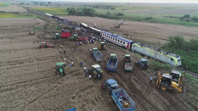 corlu train accident expert report laundering tcddyi cope