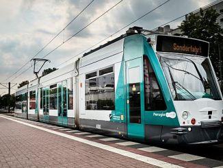 ο πρώτος μηχανοκίνητος τροχιοδρόμος στη Γερμανία αρχίζει να λειτουργεί στη Γερμανία