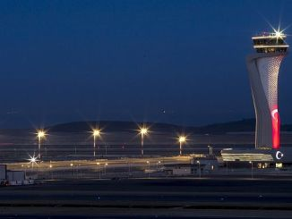 هز مطار اسطنبول الجديد الإعلان وسائل الاعلام الاجتماعية