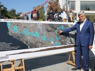 गेज़ डारिका मेट्रो परियोजना द्वारा यातायात घनत्व को समाप्त कर दिया जाएगा